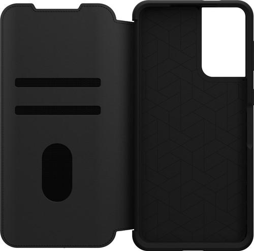 Otterbox Strada Samsung Galaxy S21 Plus Book Case Leer Zwart Main Image