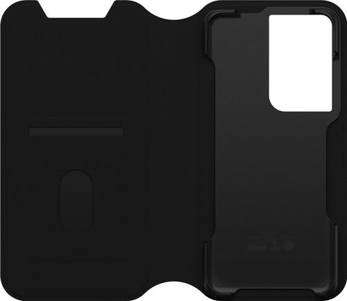 Otterbox Strada Samsung Galaxy S21 Ultra Book Case Zwart Main Image