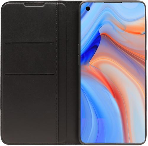 OPPO Reno4 Pro Book Case Black Main Image