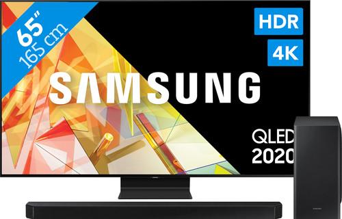 Samsung QLED 65Q95T + Soundbar Main Image