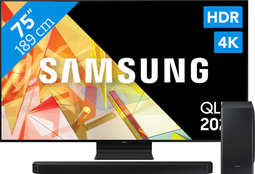 Samsung QLED 75Q95T + Soundbar Main Image