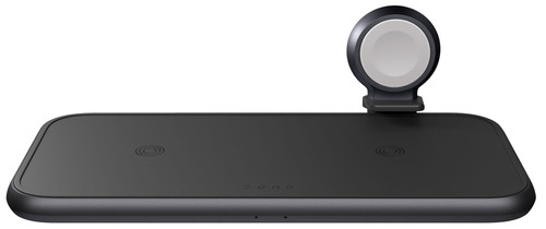 ZENS 4 in 1 Draadloze Oplader 10W met Apple Watch Lader Zwart Main Image
