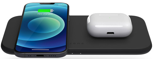 ZENS Dual Wireless Charger 10W Main Image