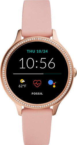 Fossil Gen 5E Display FTW6066 Rose Gold/Pink 42mm Main Image
