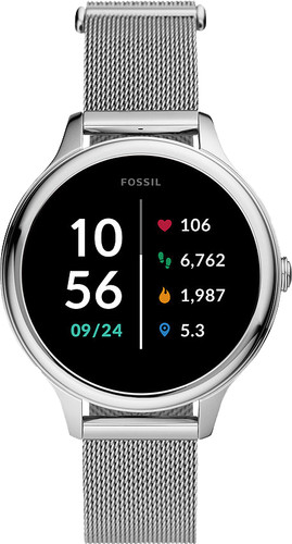 Fossil Gen 5E Display FTW6071 Silver 42mm Main Image