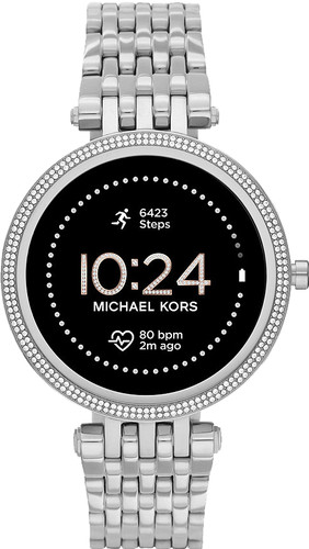 Michael Kors Darci Gen 5E Display MKT5126 Silver/Silver Main Image