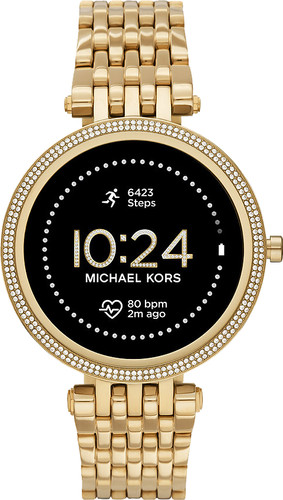 Michael Kors Darci Gen 5E Display MKT5127 Gold/Gold Main Image