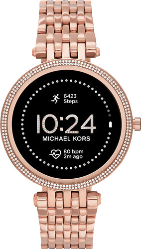 Michael Kors Darci Gen 5E Display MKT5128 Rose Gold/Rose Gold Main Image