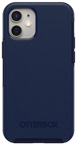 Otterbox Symmetry Plus Apple iPhone 12 mini Back Cover met MagSafe Magneet Blauw Main Image
