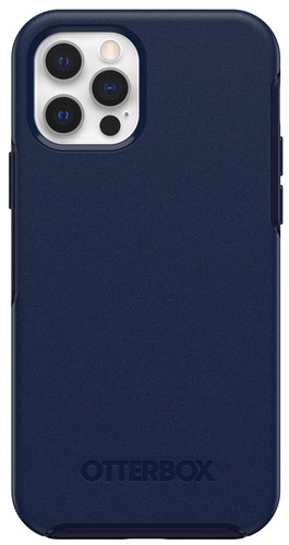 OtterBox Symmetry Plus Apple iPhone 12 / 12 Pro Back Cover with MagSafe Magnet Blue Main Image