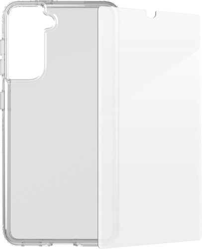 Tech21 Evo Clear Samsung Galaxy S21 Back Cover & InvisibleShield Screen Protector Main Image