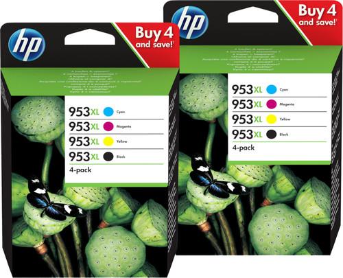 HP 953XL Cartridges Duo Combo Pack Main Image