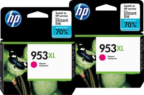 HP 953XL Cartridges Magenta Duo Pack Main Image