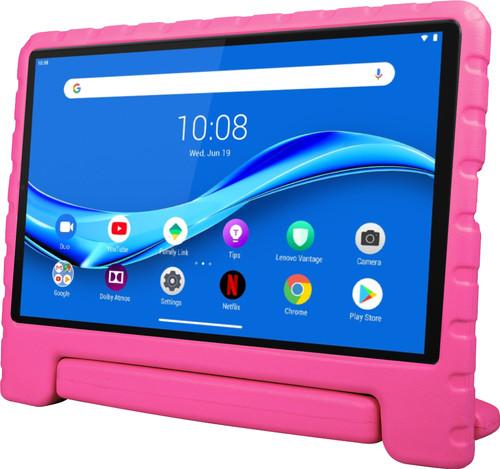 Xqisit Stand Lenovo M10 Plus (2de generatie) Kids Cover Roze Main Image