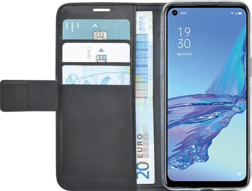 Azuri Wallet OPPO A53 / A53s Book Case Zwart Main Image