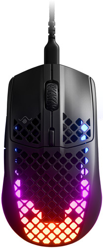 SteelSeries Aerox 3 Wired Gaming Mouse Black Main Image