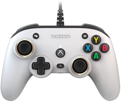 Nacon Xbox X Pro Compact Controller Wit Main Image