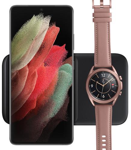 Samsung Draadloze Oplader DUO Pad 9W Zwart Main Image