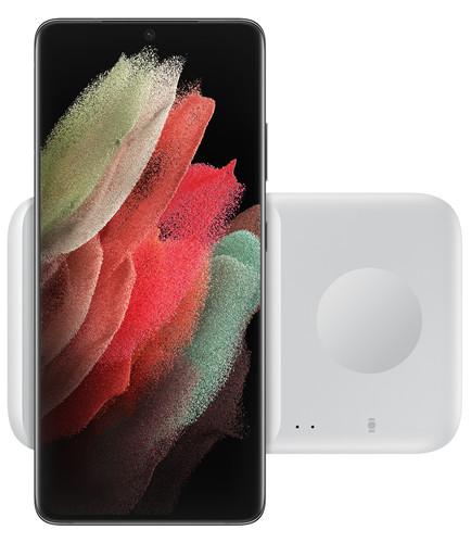 Samsung Draadloze Oplader DUO Pad 9W Wit Main Image