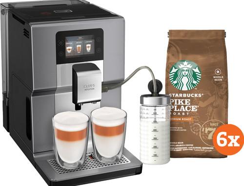 Krups Intuition Preference + EA875E + Starbucks Koffiebonen Main Image