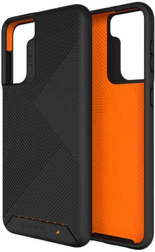 GEAR4 Denali Samsung Galaxy S21 Back Cover Zwart Main Image