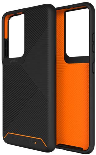 GEAR4 Denali Samsung Galaxy S21 Ultra Back Cover Zwart Main Image