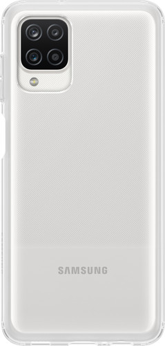 Samsung Galaxy A12 Soft Clear Back Cover Transparant Main Image