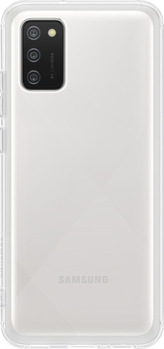 Samsung Galaxy A02s Soft Clear Back Cover Transparant Main Image