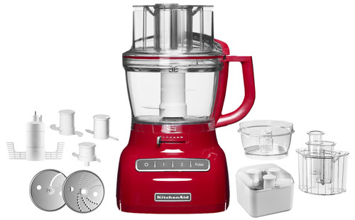 KitchenAid Food Processor Empire Red 3.1L Main Image