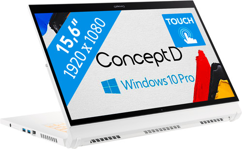 ConceptD 3 Ezel Pro CC315 - Beste laptop voor tekenprogramma's - ConceptD 3 Ezel CC315