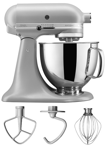 KitchenAid Artisan Mixer 5KSM125EFG Mat Grey Main Image