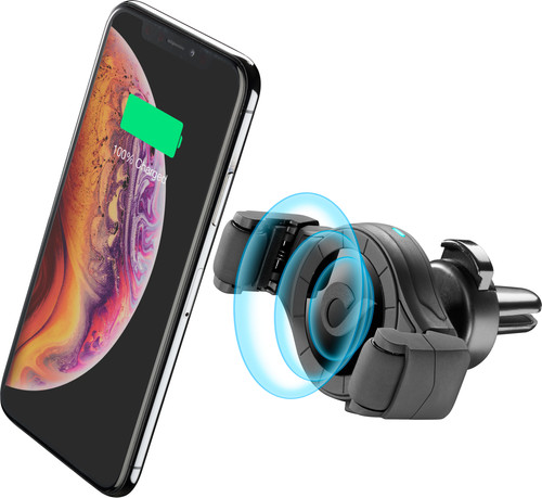 Cellularline Universal Phone Mount with Wireless Charging Air Vent Main Image