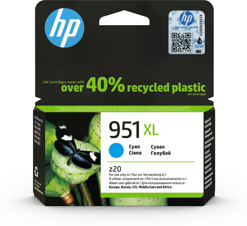 HP 951XL Cartridge Cyaan Main Image