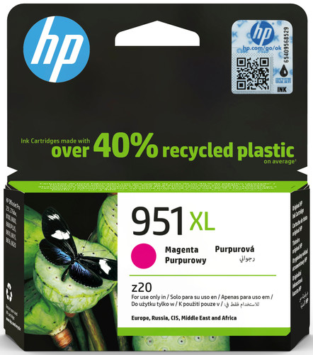 HP 951XL Cartridge Magenta Main Image