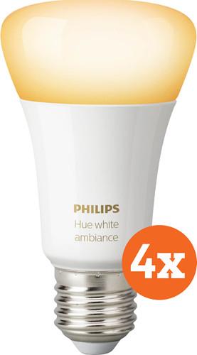 Philips Hue White Ambiance E27 Bluetooth 4-pack Main Image