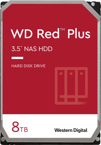 WD Red Plus WD80EFBX 8TB Main Image