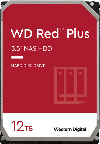 WD Red Plus WD120EFBX 12TB Main Image