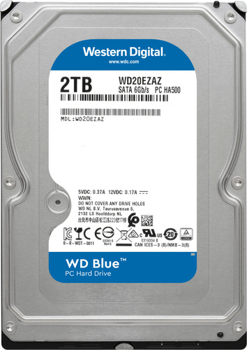 WD Blue WD20EZBX 2TB Main Image