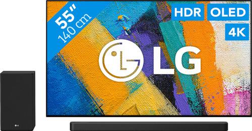 LG OLED55GX6LA + Soundbar Main Image