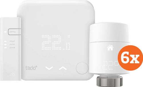 Tado Smart Thermostat V3 + Starter Pack + 6 Radiator Knobs Main Image