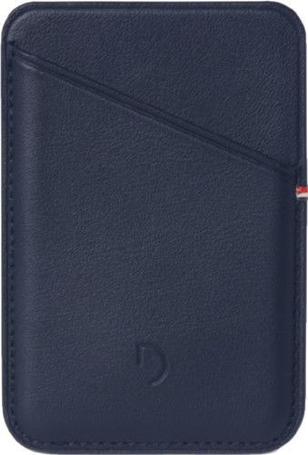 Decoded Leather Card Wallet for iPhone with MagSafe Blue Main Image