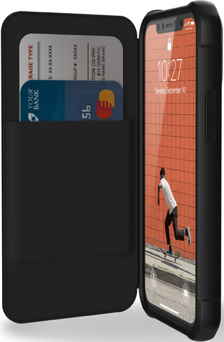 UAG Metropolis Apple iPhone 12 mini Book Case Zwart Main Image