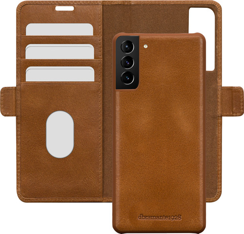 DBramante1928 Lynge Samsung Galaxy S21 2-in-1 Cover Leather Brown Main Image