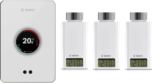 Color blanco interruptor y marco para enchufes Bosch CT200 EasyControl Smart Climate Control