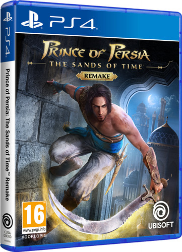 Prince of Persia: The Sands of Time Remake PS4 Main Image