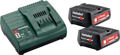 Metabo 12V 2,0 Ah accu (2x) + oplader Main Image