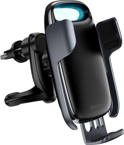 Baseus Milky Way Bracelet Universele Telefoonhouder Auto met Draadloos Opladen Roosterklem Main Image