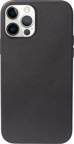 Decoded Apple iPhone 12 mini Back Cover met MagSafe Magneet Leer Zwart Main Image