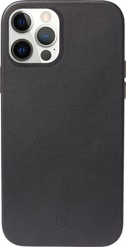 Decoded Apple iPhone 12 / 12 Pro Back Cover met MagSafe Magneet Leer Zwart Main Image