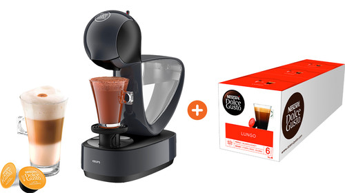 Krups Dolce Gusto Infinissima KP173B + Lungo 3 pack Main Image